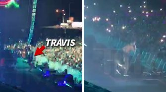 Travis Scott Falls During Rolling Loud Festival and Injures His Knee