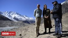 Prince William calls for climate change action on glacier visit