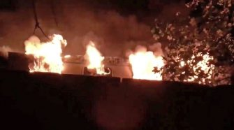 Berlin fire: Train carrying football fans catches fire leaving several injured - World News