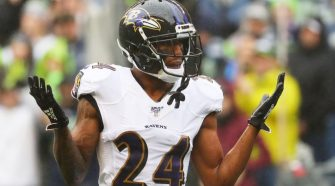 Marcus Peters gets first pick-six with Ravens – ProFootballTalk