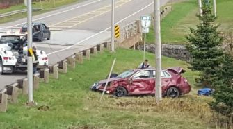 Two vehicles crash at the exact same intersection on Coleman Corner, only hours apart   Canada   News