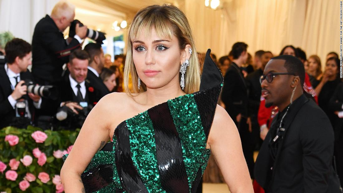 Miley Cyrus is Instagramming health updates from her hospital bed
