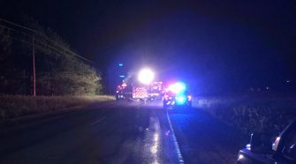 BREAKING: Crash closes all lanes of State Highway 49 at County Road VV