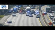 Police chase, crash shuts down I-285 in Clayton County