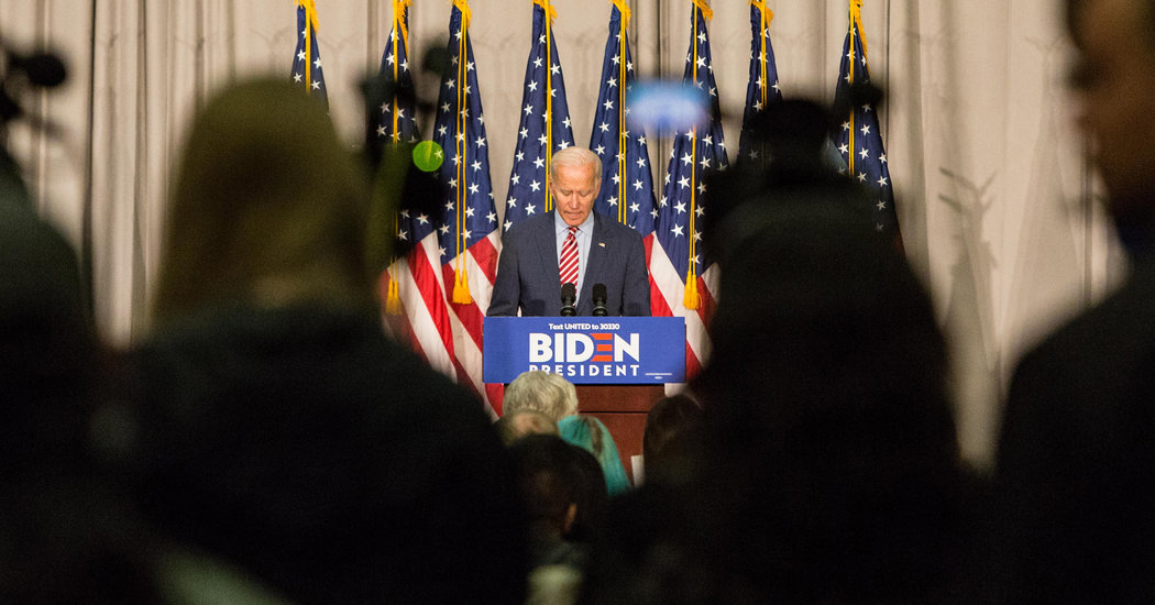 Biden Faced His Biggest Challenge, and Struggled to Form a Response