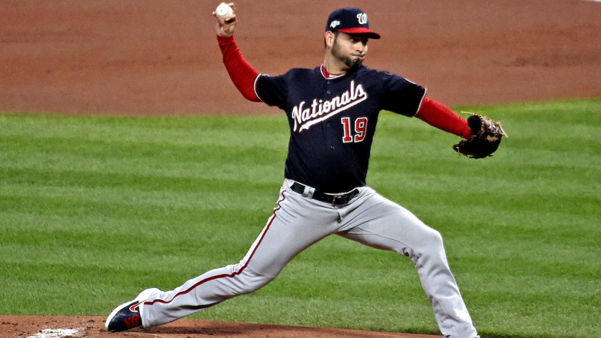 Cardinals vs. Nationals score: Live NLCS Game 1 updates as Anibal Sanchez loses no-hit bid in eighth