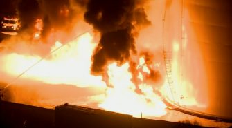 Massive Fire At Crockett Fuel Facility Contained; Teams Assessing Health Threat – CBS San Francisco