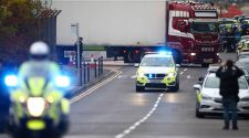 Driver in UK truck deaths charged with 39 manslaughter counts, conspiracy to traffic people