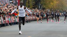 Eliud Kipchoge Breaks Two-Hour Marathon Barrier