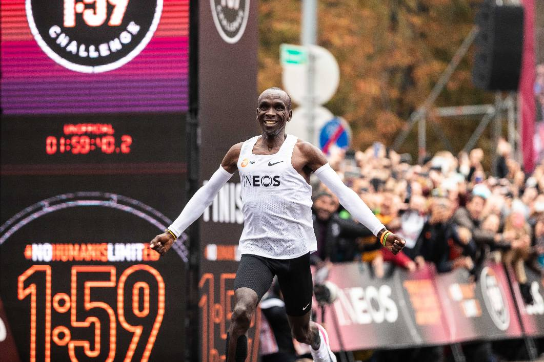 Eliud Kipchoge Is The World's First Person To Run A Marathon In Under Two Hours! Kids News Article