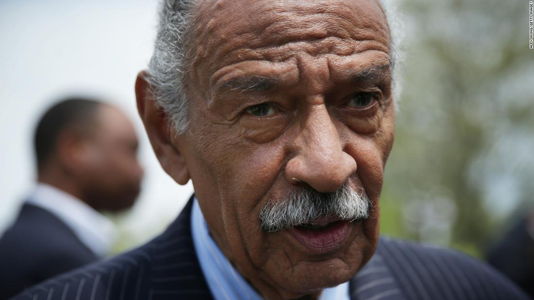 John Conyers, former Michigan representative, dies at age 90