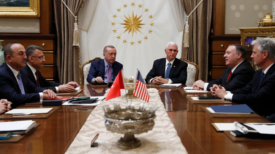Live updates: US and Turkey agree to a ceasefire in Syria