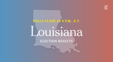 Louisiana Governor Primary Election Results
