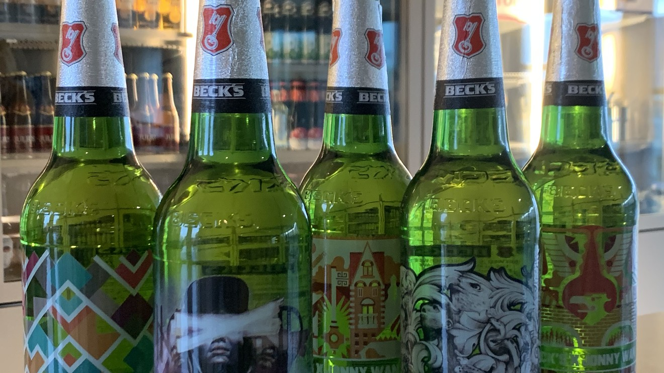 Beck's brewer AB InBev replaces paper labels with 'tattoos' on bottles to cut waste