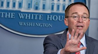 Mulvaney confirms Ukraine aid withheld in part to force probe of Democrats