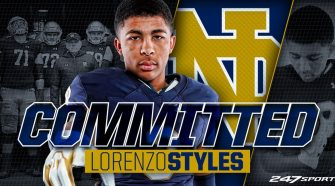 Notre Dame lands top WR target Lorenzo Styles Jr.