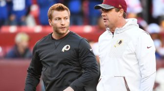 "On Jay Gruden joining LA Rams staff: ""We'll sure discuss at some point"""