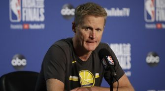 Outspoken basketball coach Steve Kerr blasted after declining to comment on NBA-China controversy