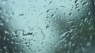 Scattered early rain; cloud to break up later