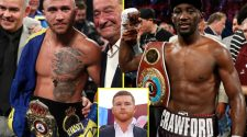 Top ten pound-for-pound boxers in the world, including Canelo Alvarez, Vasyl Lomachenko and Josh Taylor