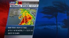 Tropical Storm Nestor: Heavy rain, gusts up to 35 mph expected in north Georgia
