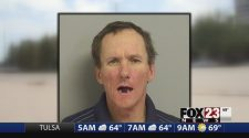 VIDEO: Homelessman accused of trying to break into woman's apartment with potted plants