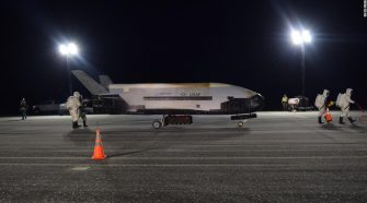 US Air Force's mysterious space plane lands after record 780 days in orbit