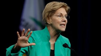 Video appears to contradict Warren's suggestion that school fired her over pregnancy