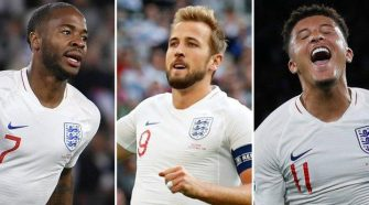Do England have the best front three in world football? Vote on the contenders