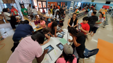 LRSD middle school students receive free technology for learning
