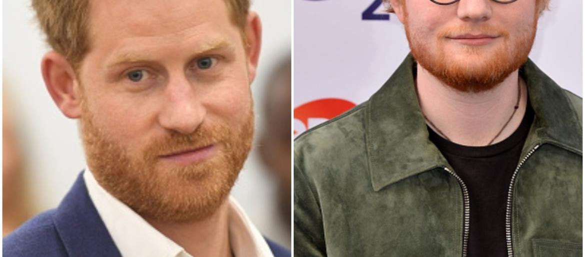 Watch Video of Prince Harry and Ed Sheeran Tackling World Me