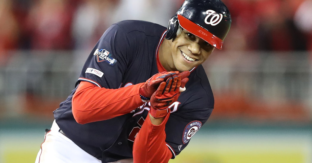 Finally, the Nationals Are in the World Series