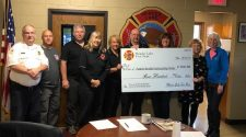 Wonder Lake Fire Department donates $700 to Family Health Partnership Clinic