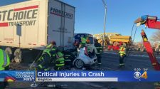 Victim Airlifted To Denver Health In U.S. 85 Crash In Brighton – CBS Denver