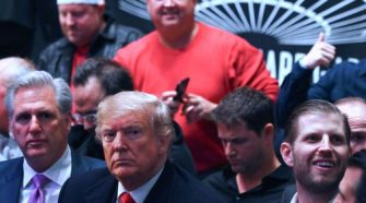 Trump takes break from impeachment battle for UFC fight in NYC
