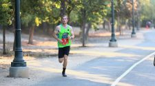 Breaking his record, local valley runner shatters his record coming in first place in the Two Cities Marathon
