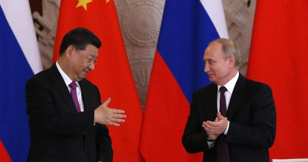 Putin Is Swayed By China As New 'Technological War' Intensifies