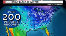Arctic blast: This week could break more than 200 records across US