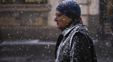 Rain Turns to Snow as Arctic Blast Hits New England