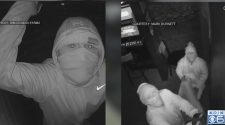 Could break-ins caught on camera be connected?