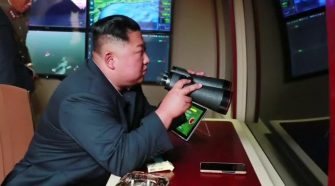 North Korea fires projectiles from 'super-large' missile launcher, South Korea says