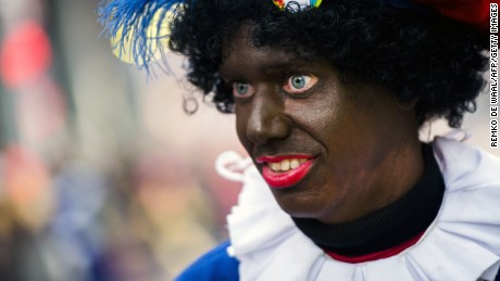 Dutch Christmas character Black Pete to ditch blackface on TV