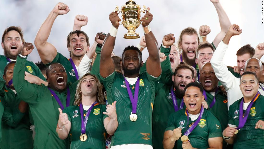 Rugby World Cup: South Africa stuns England in final