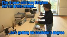 9-year-old Belgium child genius to graduate Eindhoven University of Technology with bachelor's degree in electrical engineering
