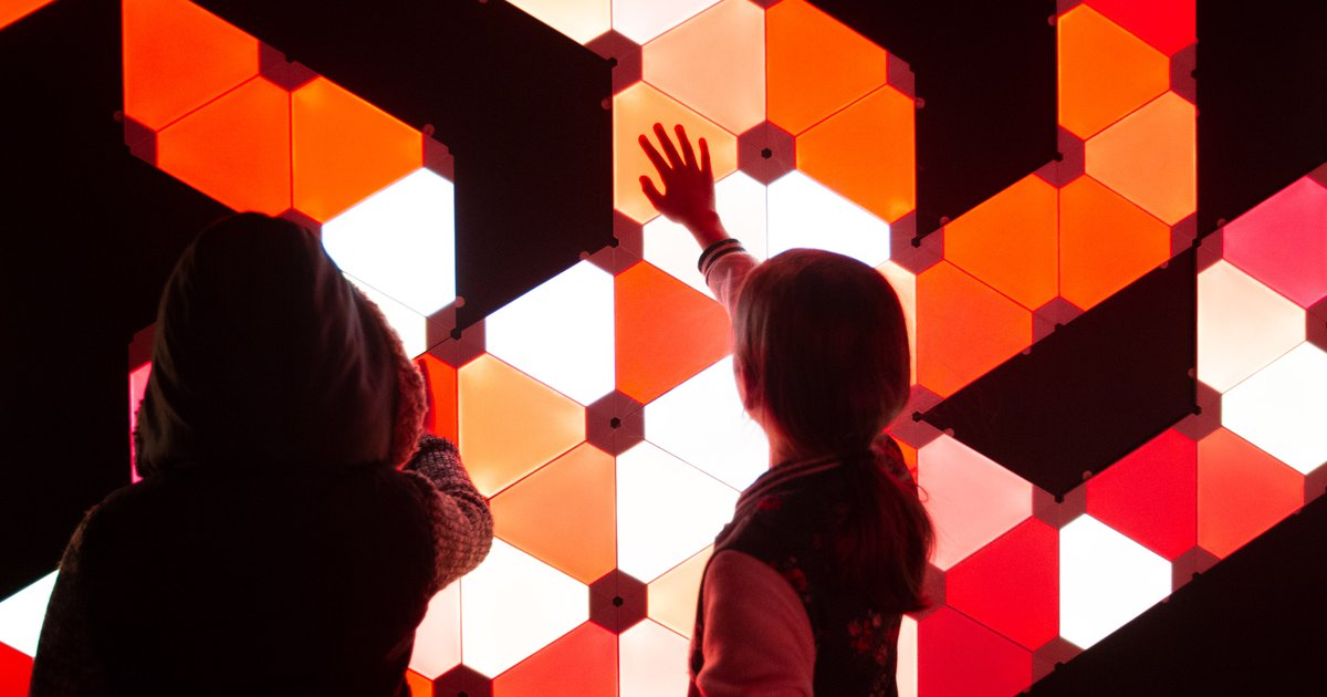 Art made from light and technology will glow in The Gateway during Illuminate festival