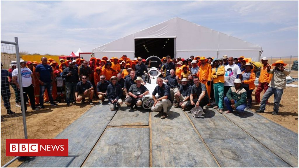 Bloodhound diary: Racing at over 500mph