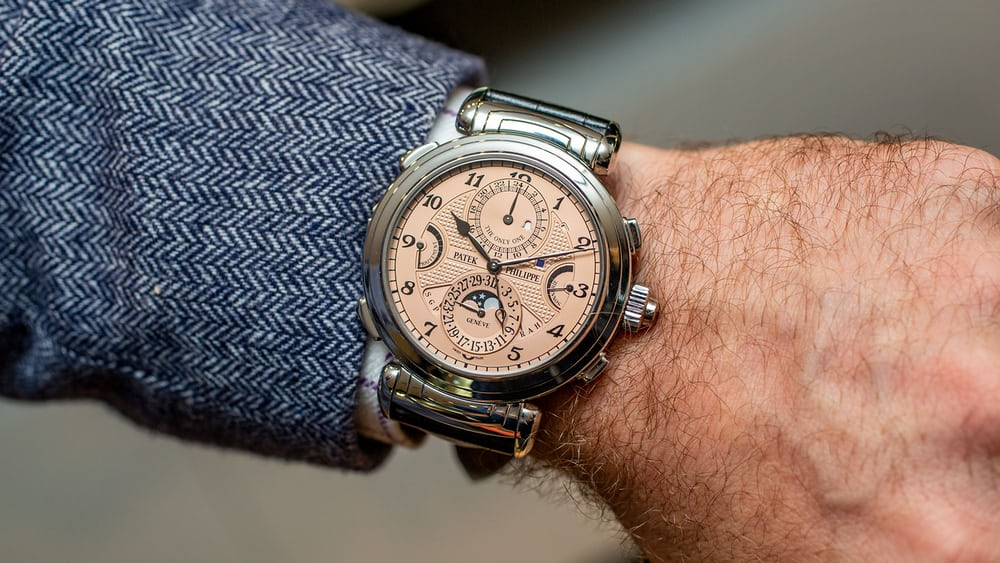 Breaking News: Patek Philippe Grandmaster Chime For Only Watch 2019 Sells For CHF 31 Million, Becoming The Most Expensive Watch In The World