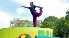 File image of breakdancer Johanna Rodrigues in Bangalore.