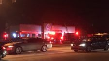 Fire at Burger King on Peach Orchard Road