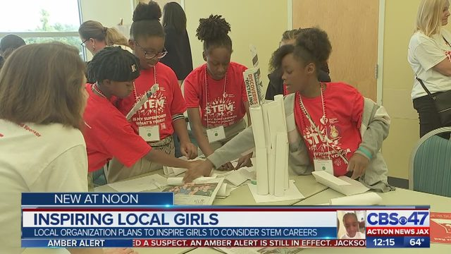 150 local girls gain hands-on experience in science, technology, engineering, math careers
